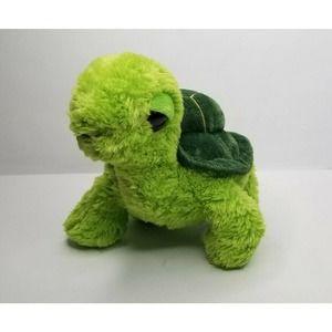 "AURORA Plush Animal Stuffed Toy 9"" Baby TURTLE"